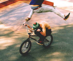 bmx and boy image