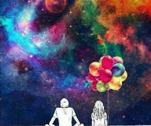 love, colors, and couple image