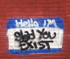 graffiti, hello, and happy image