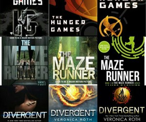 divergent and the maze runner image