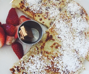 chocolate, crepes, and nutella image