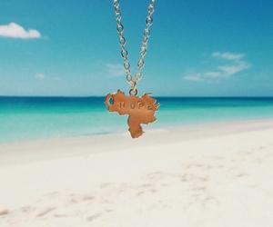 beach, hope, and mapa image