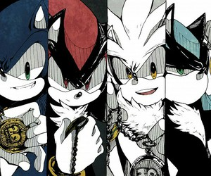 shadow, silver, and sonic image