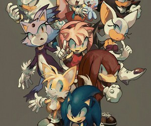 blaze, shadow, and amy image