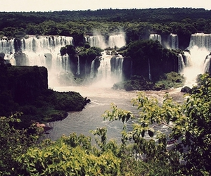 waterfall and argentina image