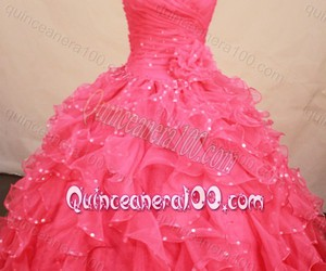 elegant quinceanera dress, pretty quinceanera dress, and ball gown quince dress image