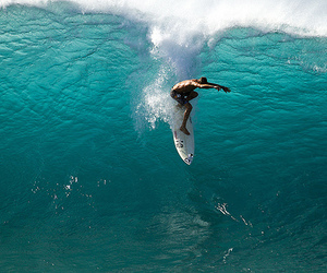 surf, boy, and sea image