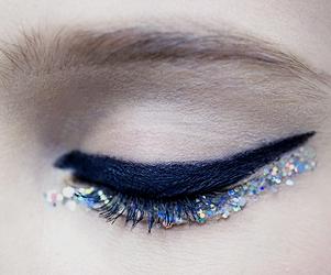 makeup, eyeliner, and fashion image
