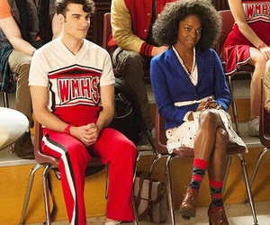 glee, glee cast, and billy lewis jr image