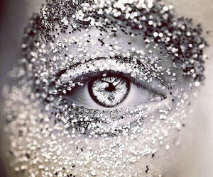 eye, glitter, and eyes image