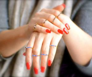 hands, pearls, and nails image