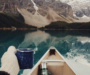 nature, mountains, and coffee image