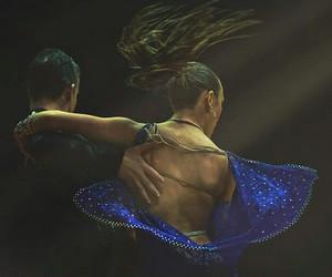 ballroom, couple, and dance image