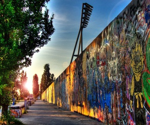 berlin, art, and germany image