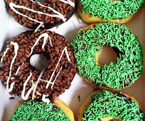donuts, foods, and sweets image