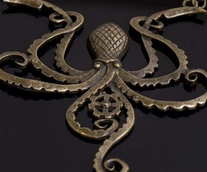 cthulhu, gear, and octopus image