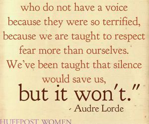 audre lorde, noise, and respect image