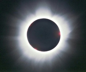 awesome, corona, and eclipse image