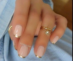 fingers, nails, and ring image