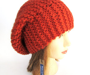 beret, red, and etsy image