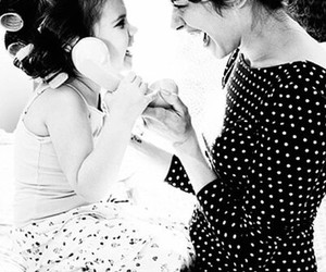 <3, baby, and daughter image