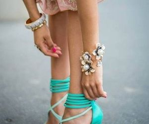 classy, fashion, and mint image