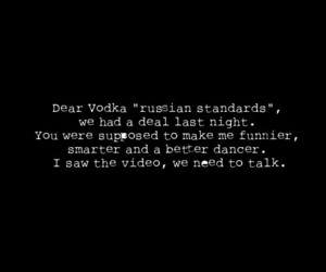 vodka, funny, and text image