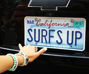 california and license plate image