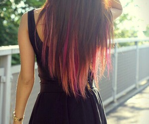 fashion, hair, and hair color image