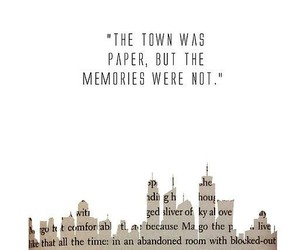 quotes, paper towns, and book image