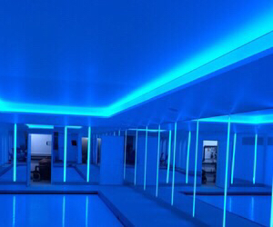 blue, glow, and aesthetic image