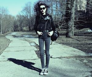 rocker, rock girl, and rock style image