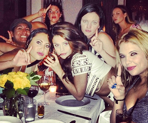 selena gomez, ashley benson, and party image