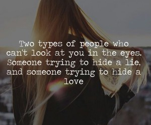 eyes, look, and two types of people image