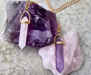 amethyst and crystal image