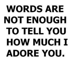 adore, text, and love image