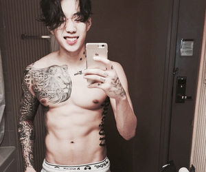 abs, jay park, and asian image