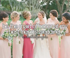 best friends, girls, and wedding image