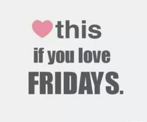 heart and friday image