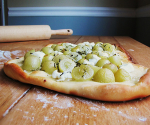 blog, grapes, and recipe image