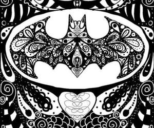 batman, drawing, and art image