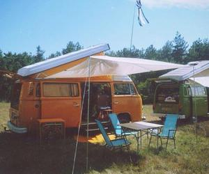 camping, hippie, and travel image