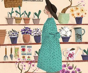 flowers, art, and illustration image