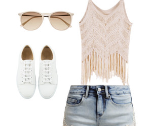fashion, Polyvore, and shorts image
