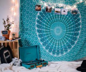 tumblr, room, and blue image