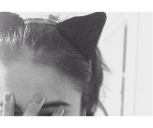 cat ears, diy, and tumblr image