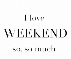 love and weekend image