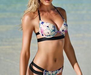 bikini, model, and candice swanepoel image