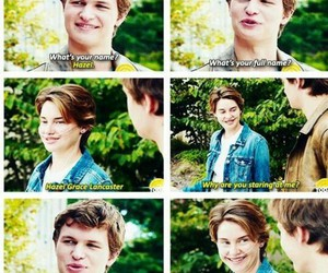 tfios, the fault in our stars, and love image