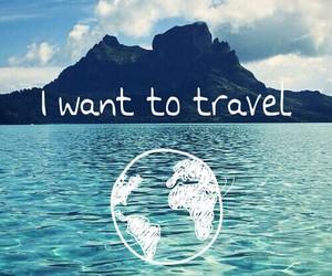 travel, world, and sea image